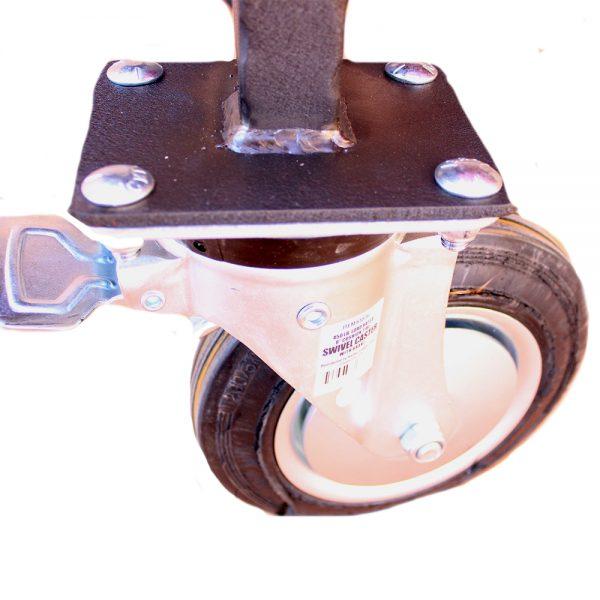 smoker wheel